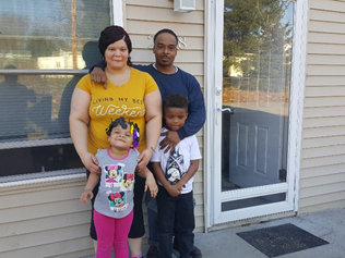 family works toward financial success